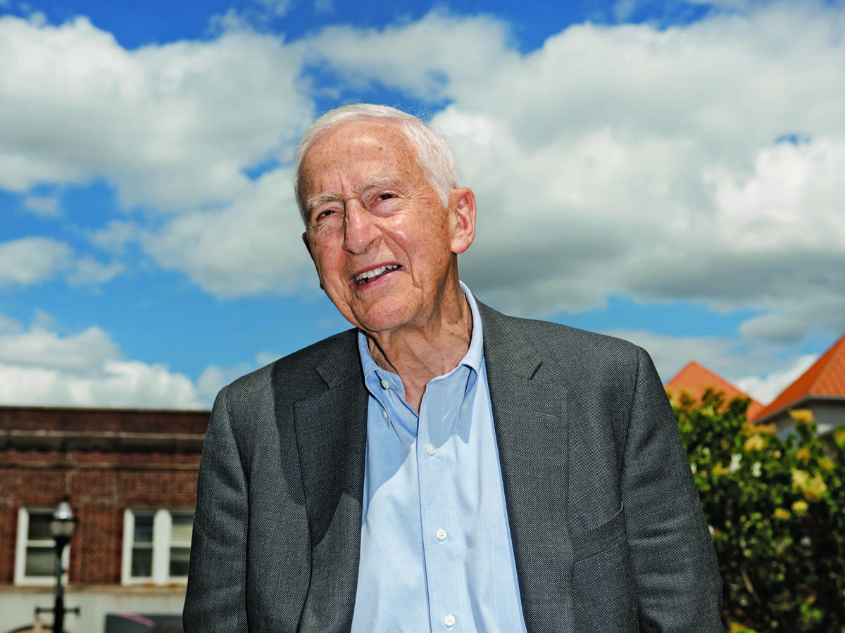 P. Roy Vagelos Looking on Photo