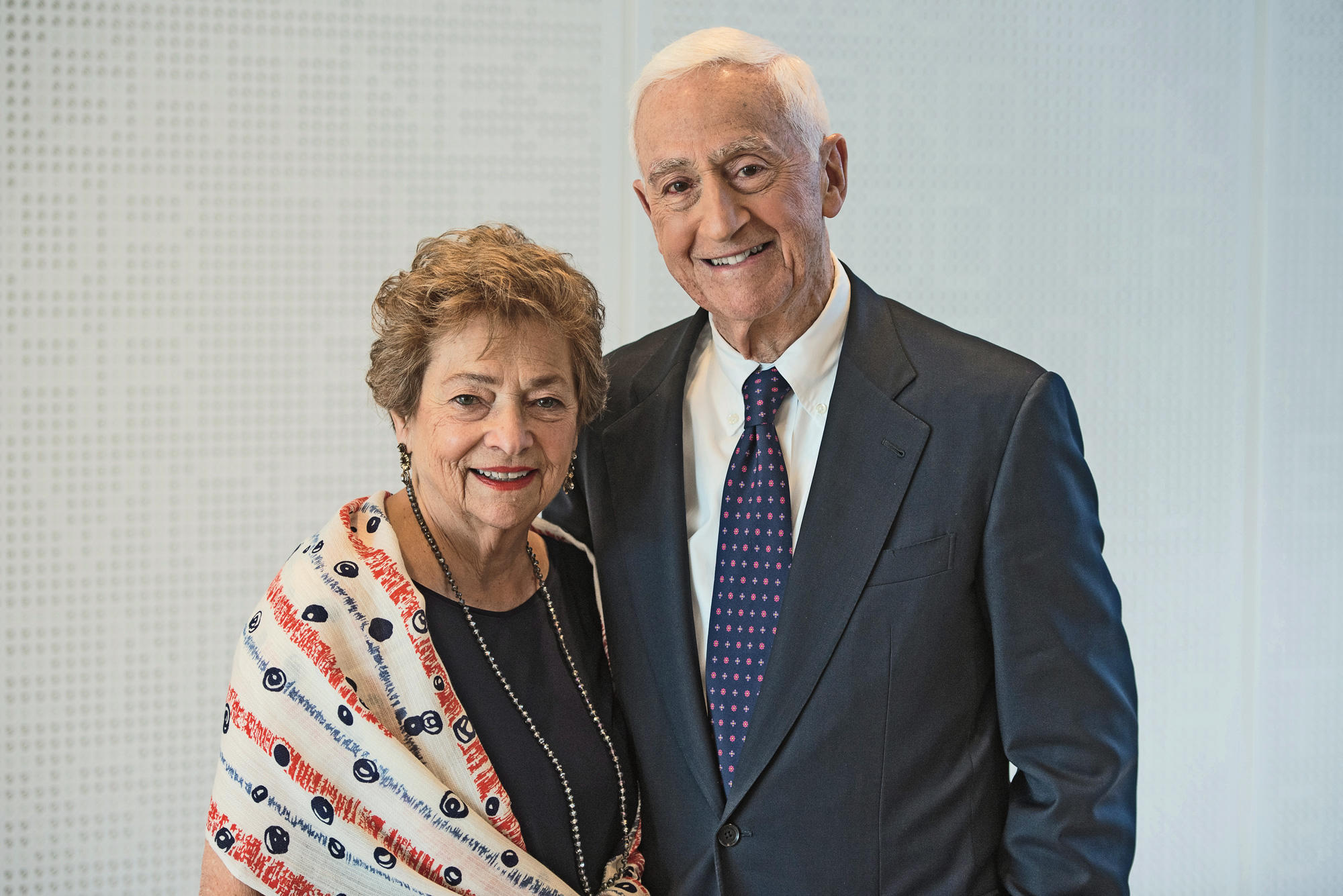 P. Roy and Diana Vagelos
