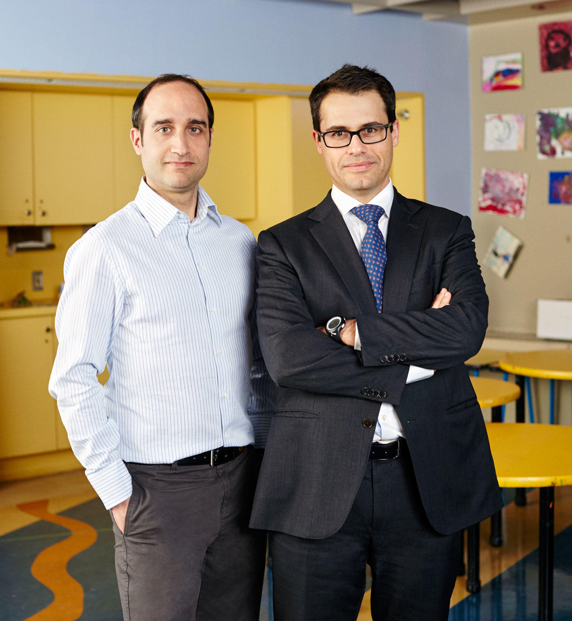 Leukemia researchers Alberto Ambesi-Impiombato and Adolfo Ferrando