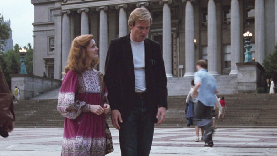 William Hurt in Altered States, filmed on Columbia University campus