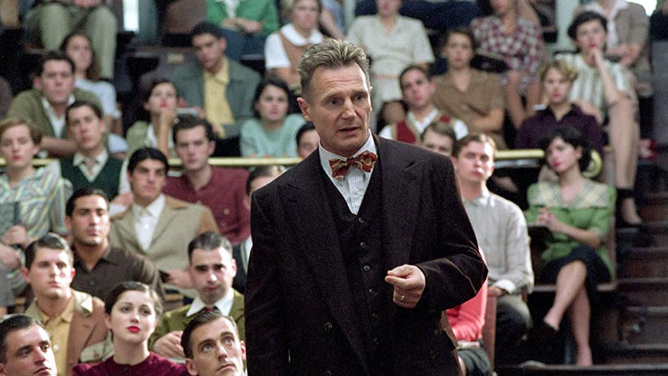"Liam Neeson as Alfred Kinsey in ""Kinsey,"" filmed on Columbia University campus"