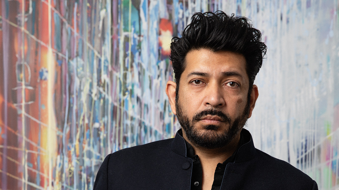 Siddhartha Mukherjee photographed by Allison Michael Orenstein