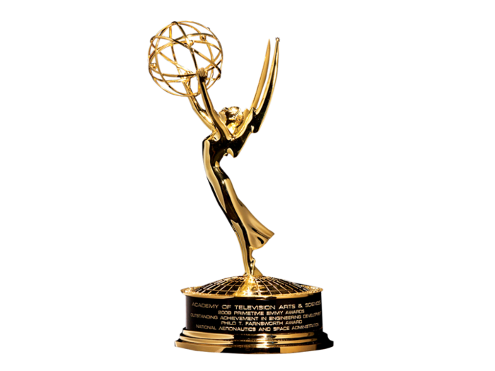 Photo of Emmy Award statue