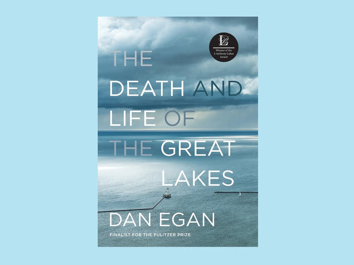 """The Death and Life of the Great Lakes"" cover"