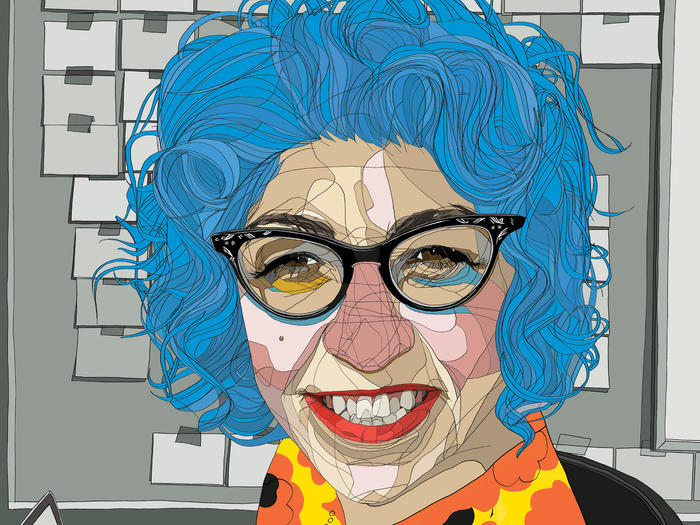 Jenji Kohan illustration