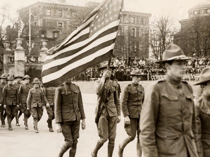 World War 1 parade
