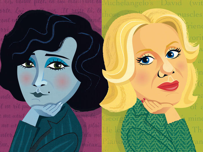 Colette and Erica Jong