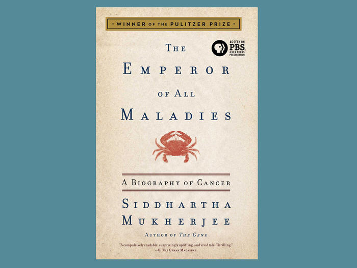 """The Emperor of All Maladies"" book cover"