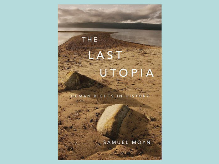 "Cover of ""The Last Utopia"" by Samuel Moyn"