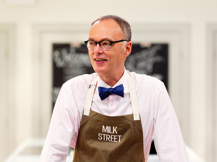 Christopher Kimball in Milk Street apron