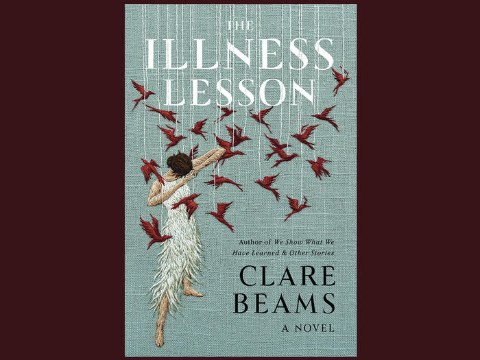 Cover of the Illness Lesson by Clare Beams