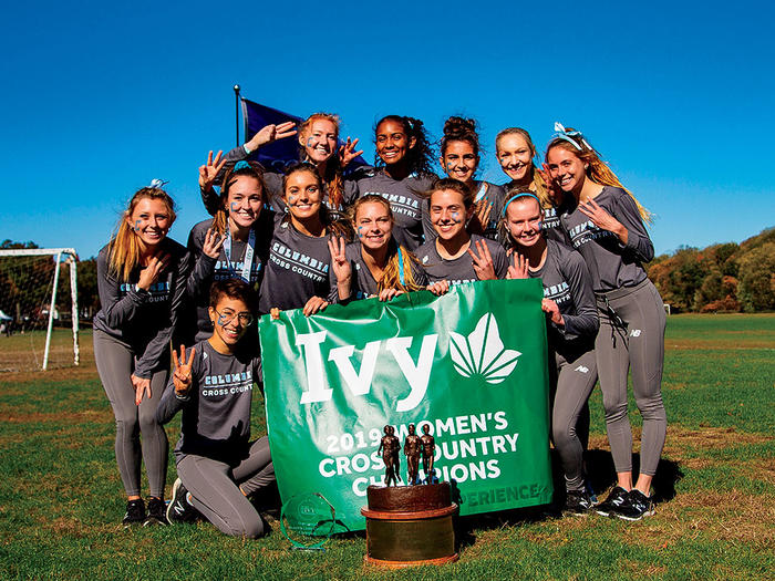 Columbia women's cross-country team, 2019