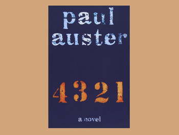 """4 3 2 1"" by Paul Auster"