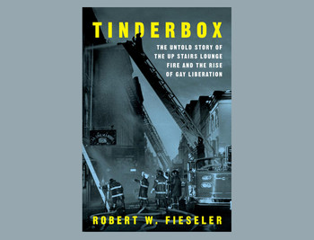 "Book cover: ""Tinderbox"""