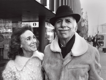 Helen Gurley and David Brown in 1984