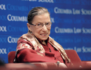 Ruth Bader Ginsburg at Columbia in 2012
