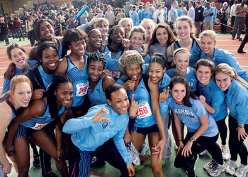 Columbia women's track and field team