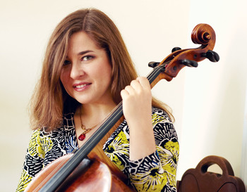 Alisa Weilerstein with cello