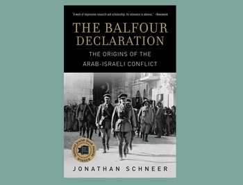 "Cover of ""The Balfour Declaration"" by Jonathan Schneer"