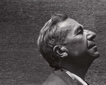 Alfred Kazin, in a 1968 portrait by Arnold Newman