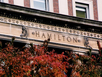 Hamilton Hall at Columbia photographed by Eileen Barroso