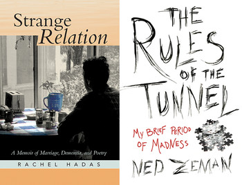 "Book covers: ""Strange Relation"" and ""The Rules of the Tunnel"""