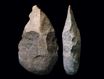 Ancient hand axes