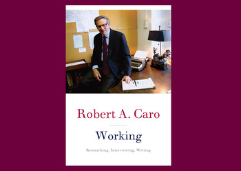 "Cover of ""Working"" by Robert Caro"