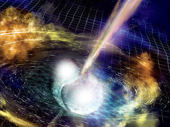 Rendering of neutron star