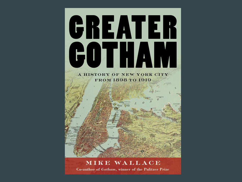 """Greater Gotham"" book cover"