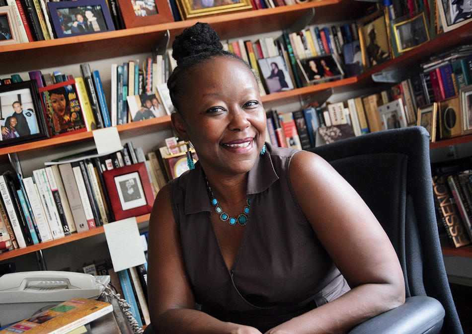 Farah Jasmine Griffin, the new chair of Columbia's African American and African Diaspora Studies department