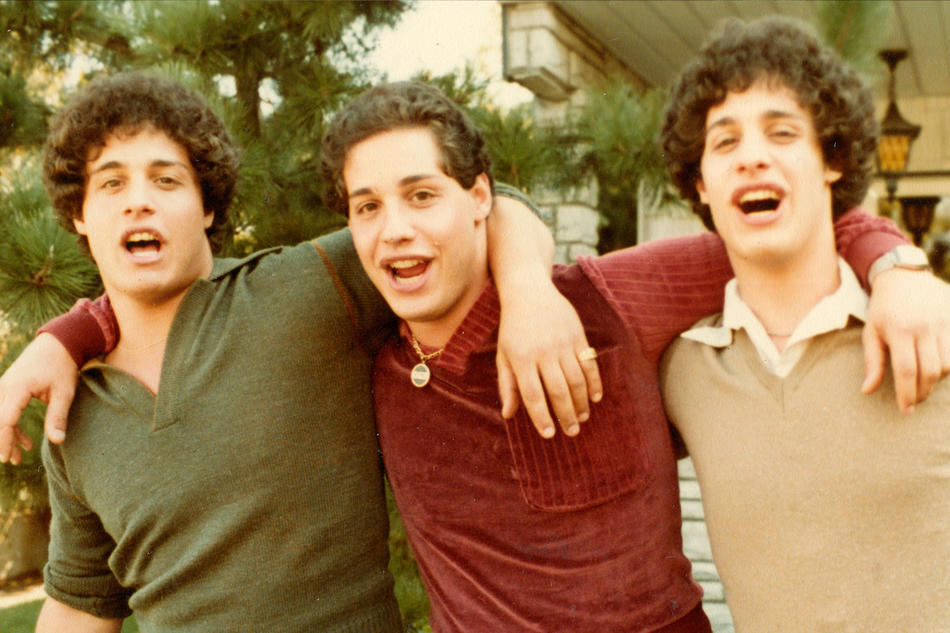 Edward Galland, David Kellman, and Robert Shafran from Three Identical Strangers