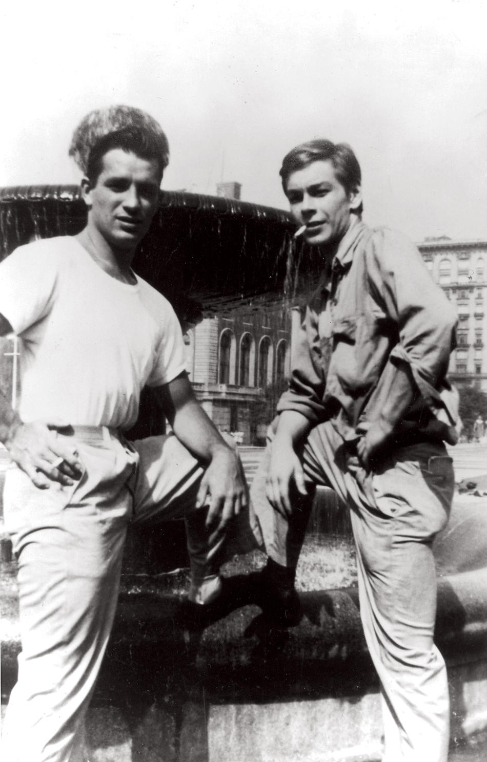 Jack Kerouac and Lucien Carr