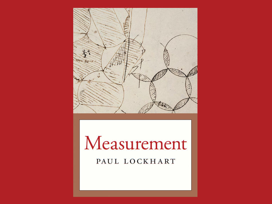 Book cover: Measurement by Paul Lockhart