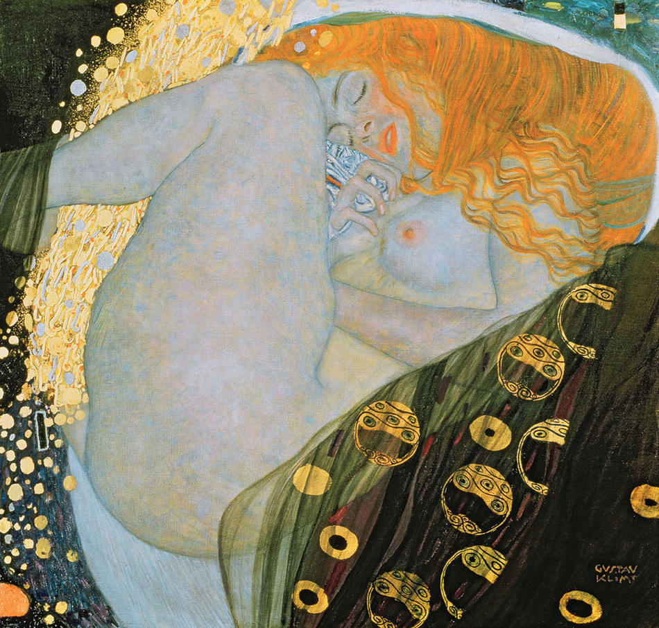 Ustav klimt's interpretation of the story of judith decapitating holofernes