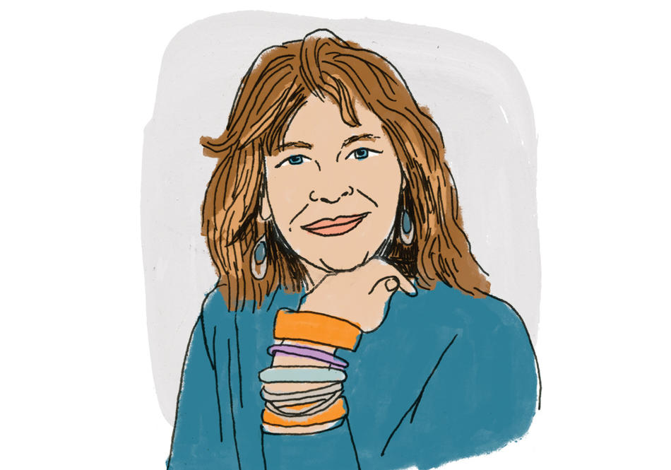 Illustration of Carol Becker