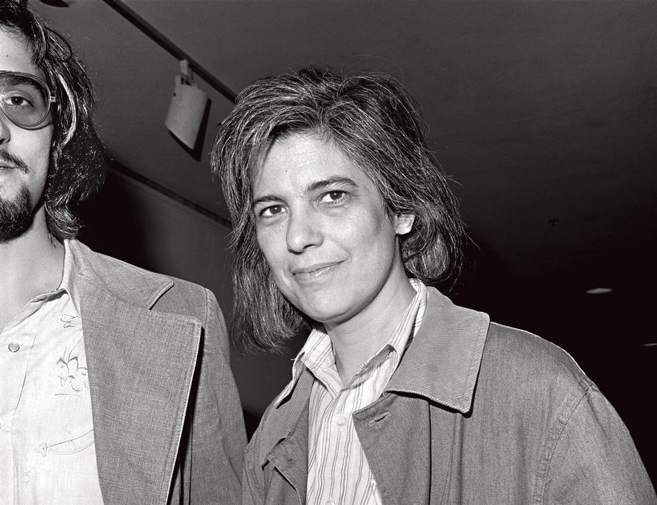 Susan Sontag and her son, David Rieff, in 1976