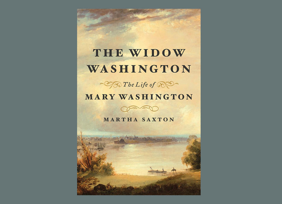 Cover of The Widow Washington by Martha Saxton