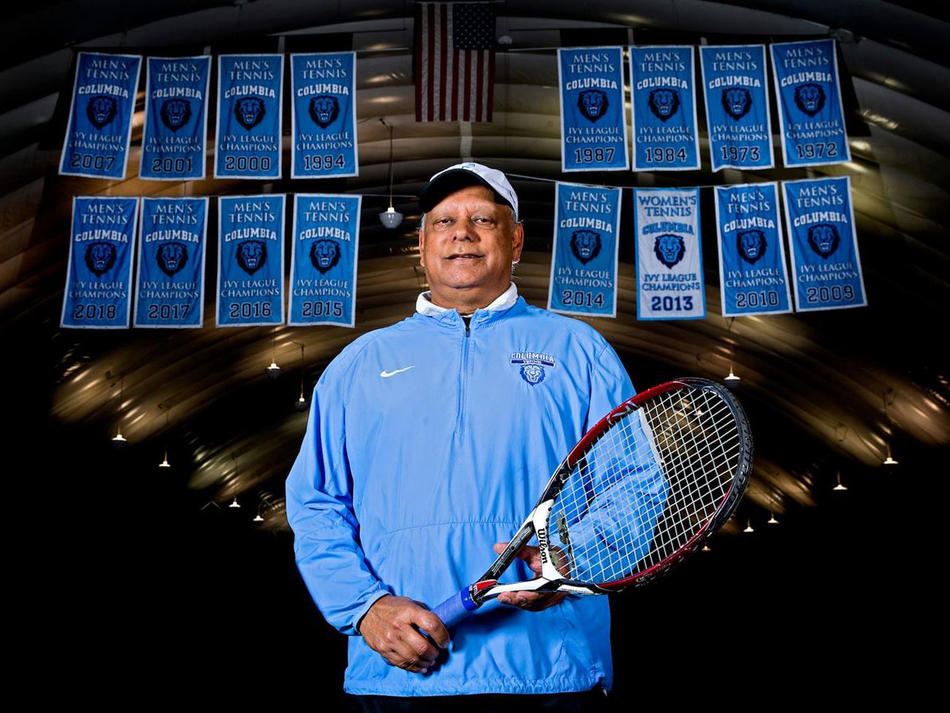 Former Columbia tennis head coach Bid Goswami