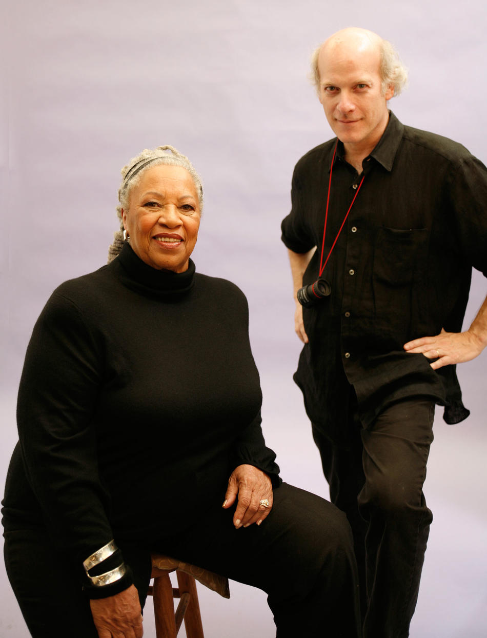 Toni Morrison and Timothy Greenfield-Sanders
