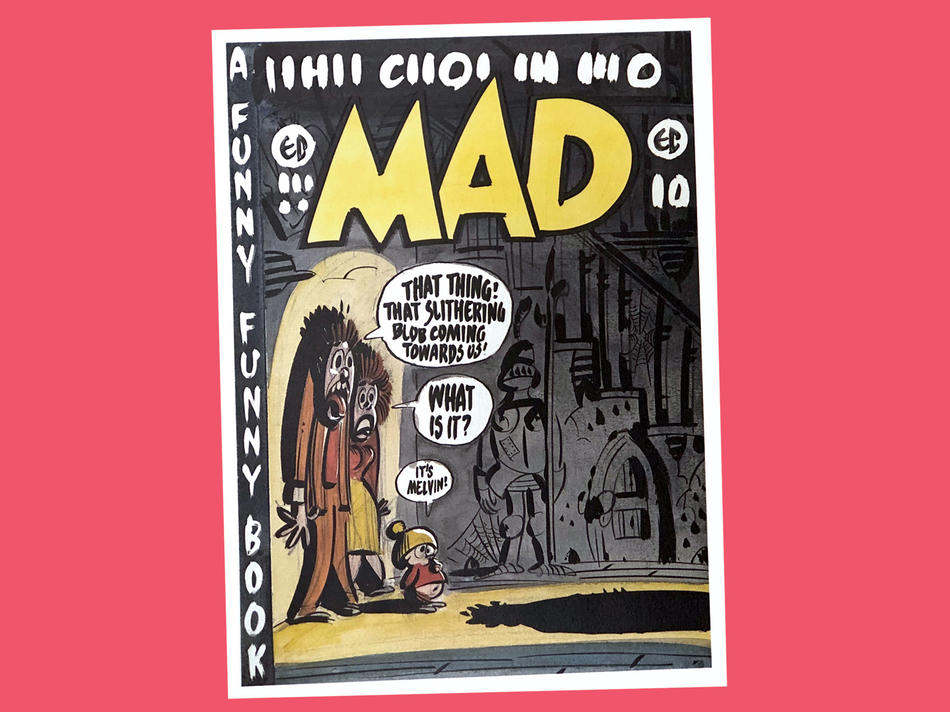 Print of Mad Magazine #1