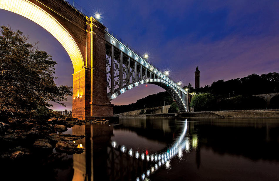 The High Bridge, over the Harlem River