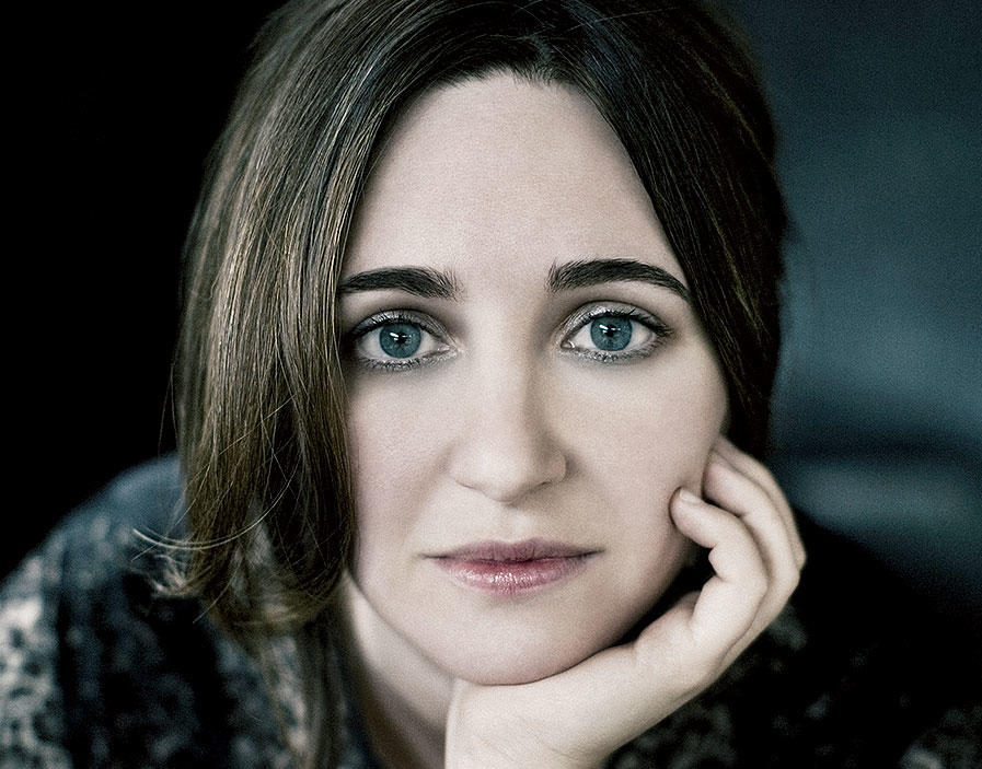 Simone Dinnerstein photographed by Lisa Marie Mazzucco
