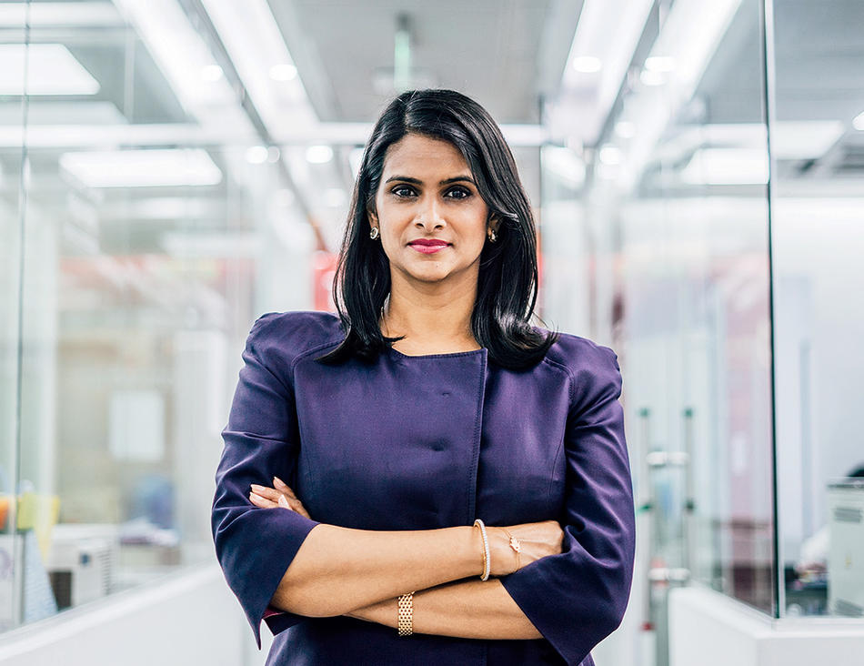 Sylvana Q. Sinha, founder and CEO of Praava Health in Bangladesh