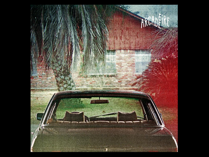 Album cover of The Suburbs by Arcade Fire