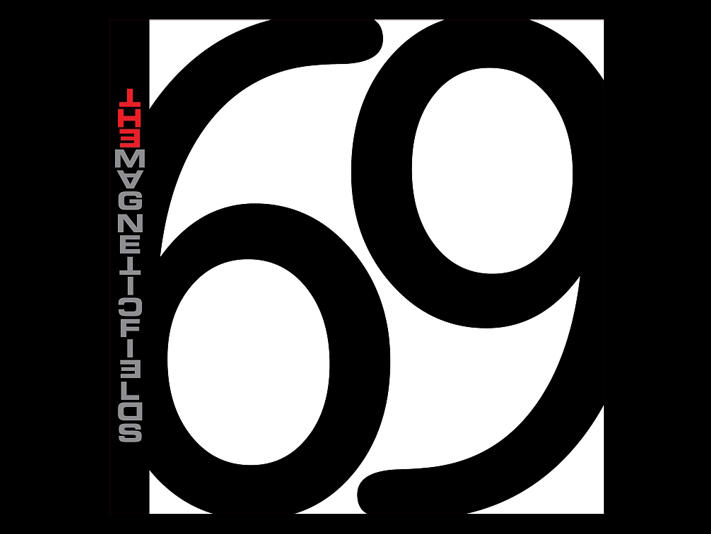 Album cover of 69 Love Songs by the Magnetic Fields
