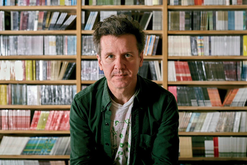 Mac McCaughan, founder of Merge Records and frontman of Superchunk, photographed in 2019