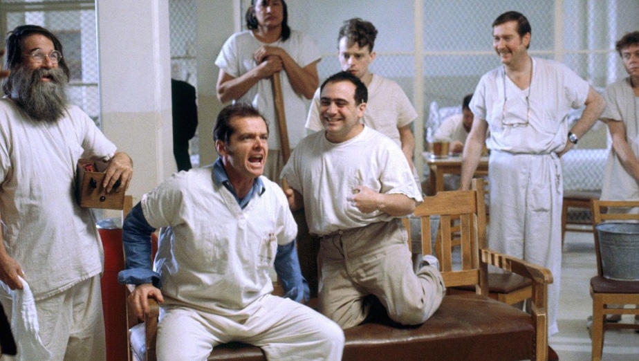 "Still from ""One Flew Over the Cuckoo's Nest"""