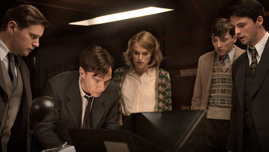 "Benedict Cumberbatch (second from left) in ""The Imitation Game"" (StudioCanal)."