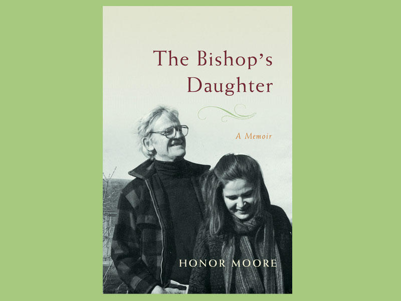 "Cover of ""The Bishop's Daughter"" by Honor Moore"